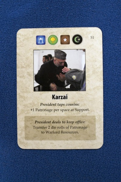A Distant Plain Karzai Card