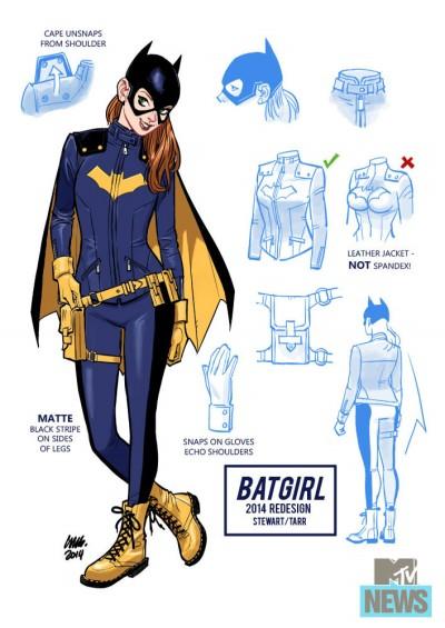 Batgirl 2014 Redesign