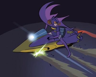Batgirl Gatchaman 05