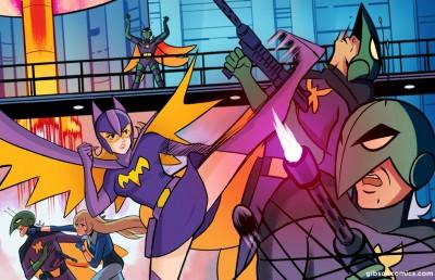 Batgirl Gatchaman 06