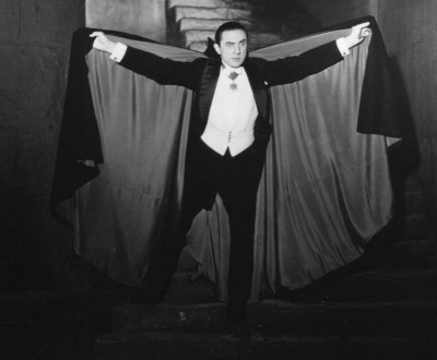 Bela Lugosi as Dracula in Cape