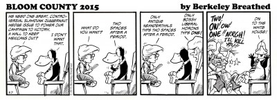 Bloom County Wedge Issue