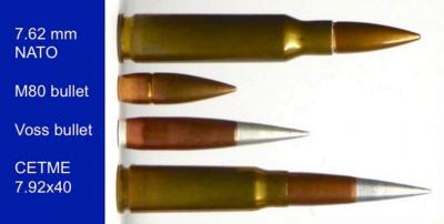 Bullet Design M80 versus Voss