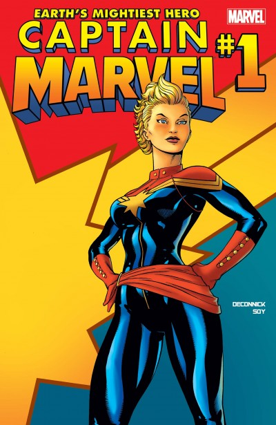 Captain Marvel No 01 Cover Carol Danvers