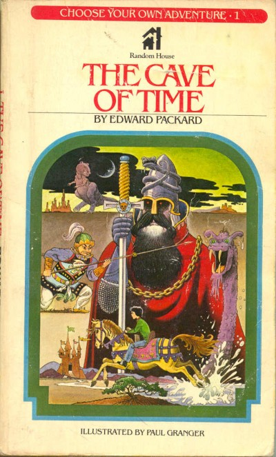 Choose Your Own Adventure 001f Cave of Time