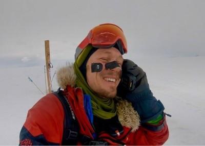 Colin O'Brady in Antarctica