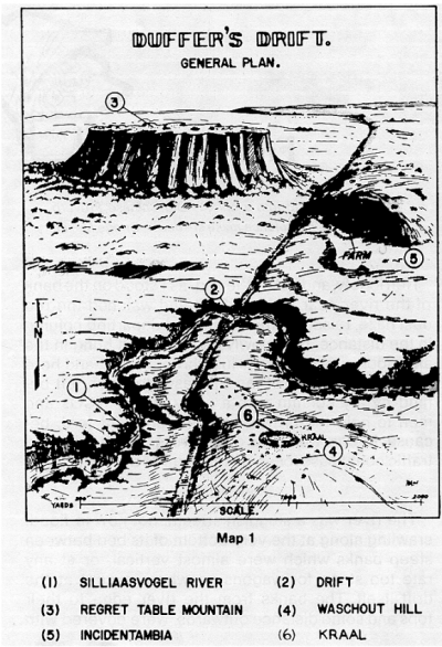 Duffer's Drift Map 1