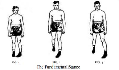 Edwin Haislet Boxng Fundamental Stance