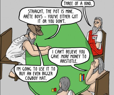 Existential Comics Greek Hold Em 2