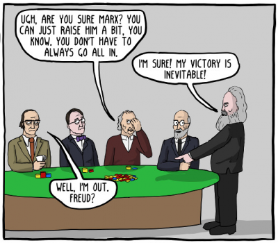 Existential Comics Philosophy of Science of Poker