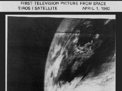 First TV Picture from Space