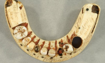 George Washington's Lower Denture