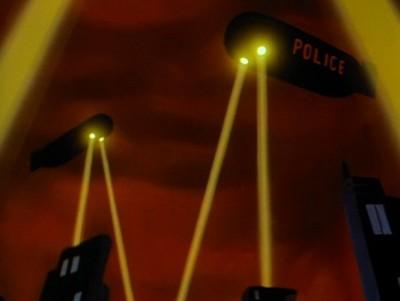 Gotham Police Airships