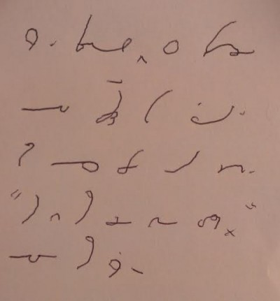 Gregg Shorthand Paragraph