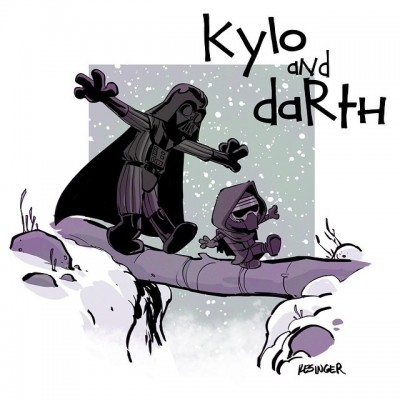 Kesinger Kylo and Darth 01