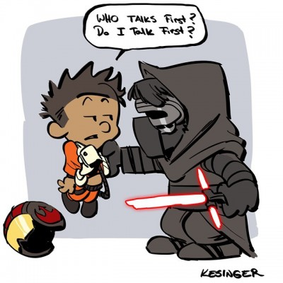 Kesinger Kylo and Darth 07