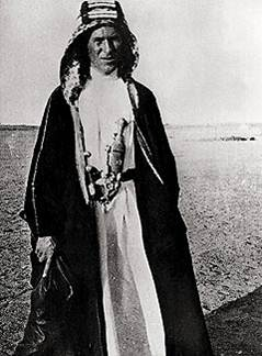 During World War I the British officer T. E. Lawrence organized Arab irregular troops and led them in guerrilla operations against the Ottoman Empire.