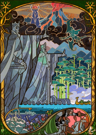 Lord Of The Rings by Jian Guo 05