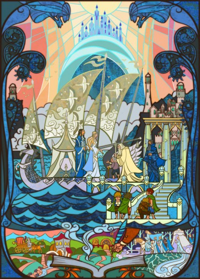 Lord Of The Rings by Jian Guo 06