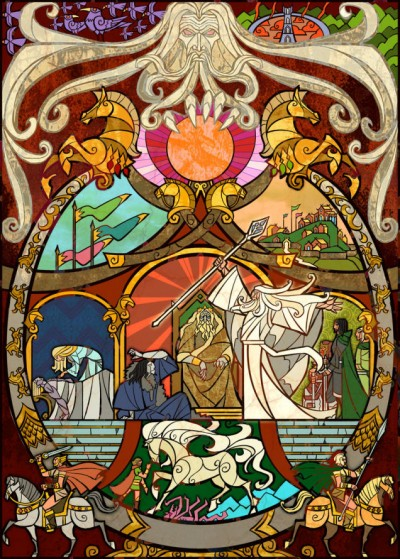 Lord Of The Rings by Jian Guo 07