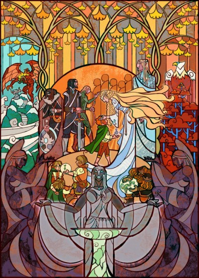 Lord Of The Rings by Jian Guo 09