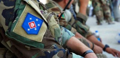 Marine Raider Patch Unofficially in Afghanistan