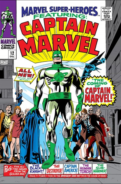 Marvel Super-Heroes No 12 Captain Marvel