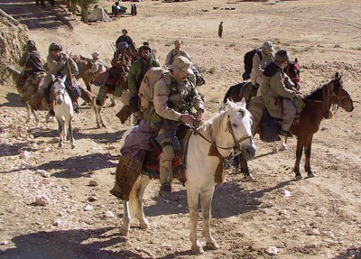 ODA 595 and Northern Alliance on Horseback in 2001