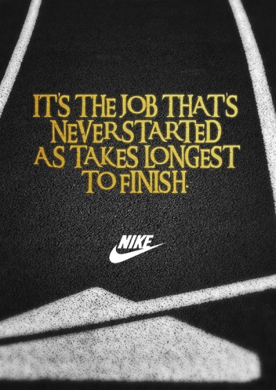 One Ad to Rule Them All Nike