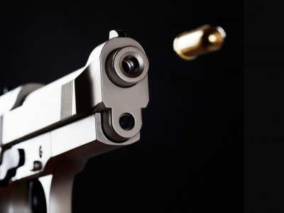 Pistol and Round