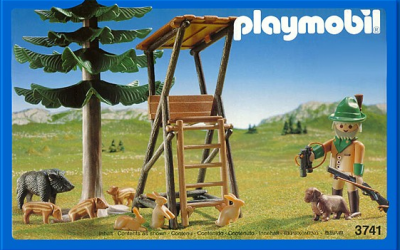 Playmobil Hunter's Stand
