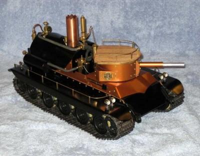 RC Steam Tank