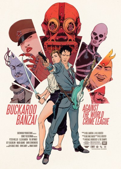 Sequels Buckaroo Banzai Against the World Crime League