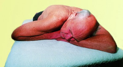 Sleeping Figure 4 Lookout Posture