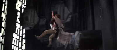 Star Wars Luke and Leia Swing