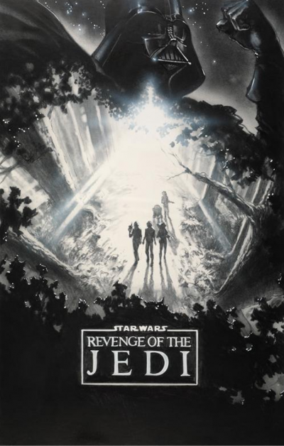 Star Wars Revenge of the Jedi Poster