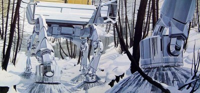 Syd Mead Walkers for US Steel