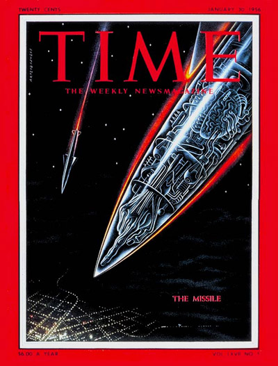Time Magazine 1956-01-30 The Missile