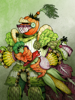 Vegetable Knight