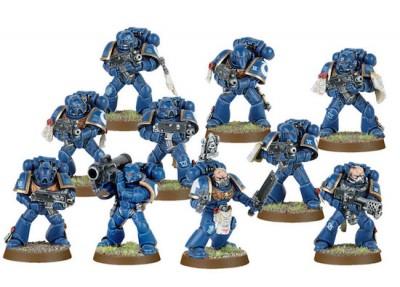 Warhammer 40k Space Marine Minis