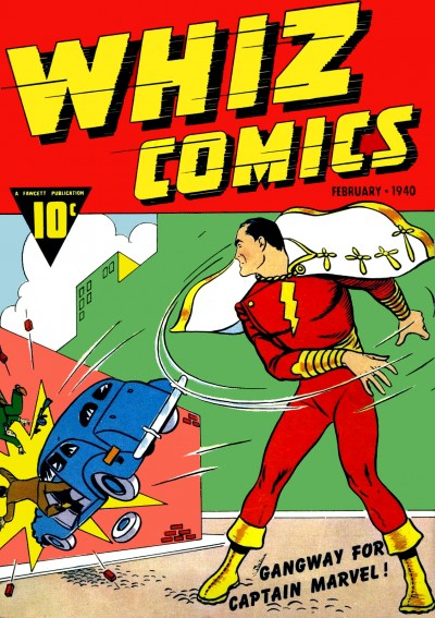 Whiz Comics No 02 Cover Captain Marvel