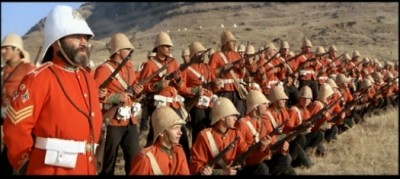 Zulu Dawn Line of British Soldiers